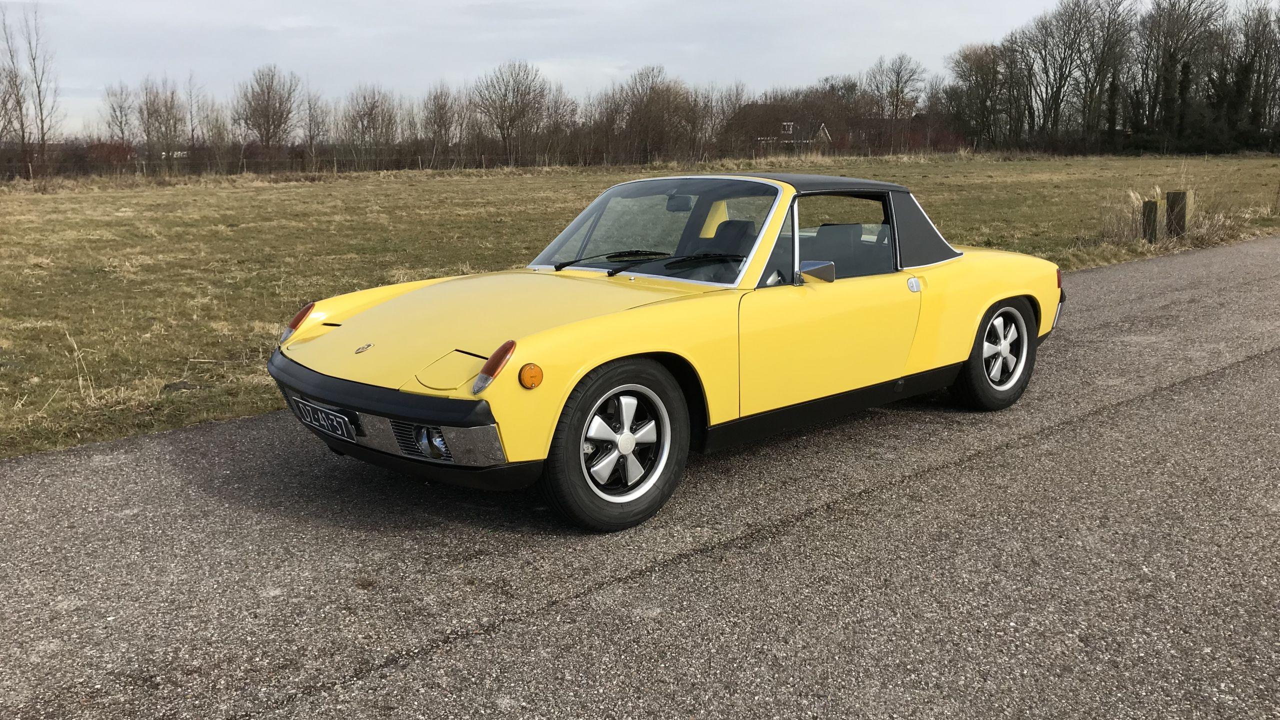 1970年 ポルシェ 914-6